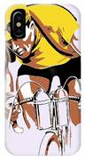 The Yellow Jersey Retro Style Cycling IPhone Case