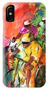 The Yellow River Of The Tour De France IPhone Case
