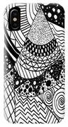 The Zendoodle Desert IPhone Case
