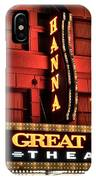 Theater District Close Up IPhone Case