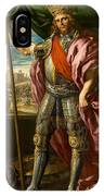 Theodoric King Of The Goths IPhone Case