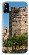 Theodosian Walls - View 3 IPhone Case