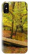 There Is Peace - Allaire State Park IPhone Case