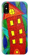 There Was A Crooked House IPhone Case