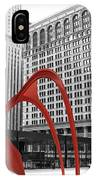 There's A Red Flamingo In Chicago IPhone Case