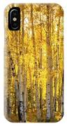 There's Gold In Them Woods  IPhone Case