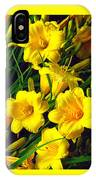 These Golden Flowers IPhone X Case