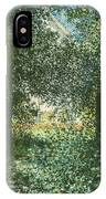 Thicket  The House Of Argenteuil IPhone Case