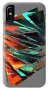 Thin Glass Triangles - 127 IPhone Case