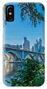 Third Avenue Bridge Over Mississippi River IPhone Case