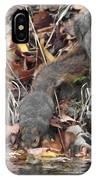 Thirsty Squirrel IPhone Case