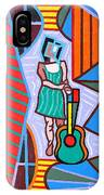 This Guitar Is More Than An Instrument IPhone Case
