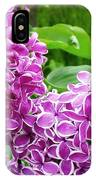 This Lilac Has Flowers With A White Edging.1 IPhone Case