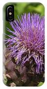 Thistle In Bloom IPhone Case