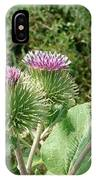Thistle Trinity IPhone Case
