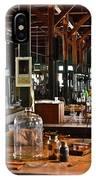 Thomas Edison Lab, #3 IPhone Case