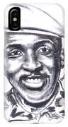 Thomas Sankara 02 IPhone Case
