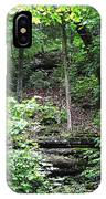 Thorncrown Chapel Setting In The Ozark Mountains IPhone Case
