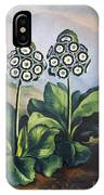 Thornton: Auriculas IPhone Case