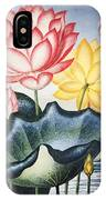Thornton: Lotus Flower IPhone Case