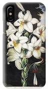 Thornton: White Lily IPhone Case