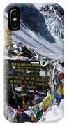 Thorong La Pass, Annapurna Circuit, Nepal IPhone Case