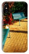 Three Benches IPhone Case