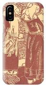 Three Breton Women With Infants IPhone Case