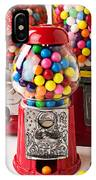 Three Bubble Gum Machines IPhone Case