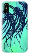 Three Crows Contemporary Minmalism IPhone Case