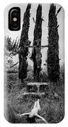 Three Cypresses IPhone Case
