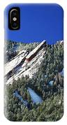 Three Flatirons IPhone Case