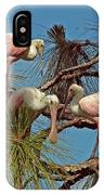 Three In A Tree IPhone Case