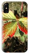 Three Leaves IPhone Case