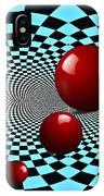 Three Red Balls IPhone Case
