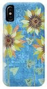 Three Sunflowers IPhone X Case