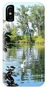 Three Toronto Swans  IPhone Case