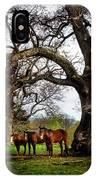 Three Under A Tree IPhone X Case