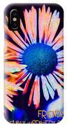 Three Wild Flowers Friendship IPhone Case