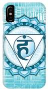 Throat Chakra - Awareness IPhone X Case