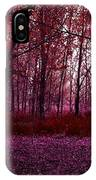 Through A Forest IPhone Case
