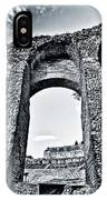 Through The Arch In A Sicily Ruin IPhone Case