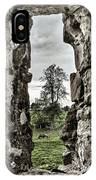Through The Castle Window IPhone Case