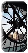 Through The Clock IPhone Case