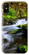 Through The Forest Floor It Flows IPhone Case