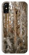 Through The Forest Trees IPhone Case