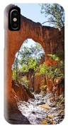 Through The Golden Arch IPhone Case