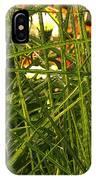 Through The Grass Curtain IPhone Case