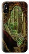 Through The Knothole IPhone Case