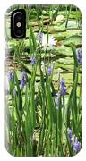 Through The Lily Pond IPhone Case